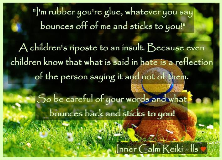 I'm rubber